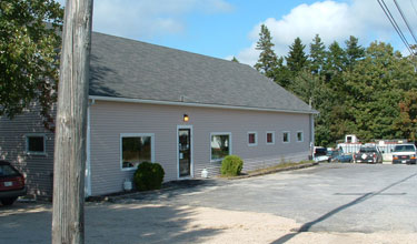 Percy Brown office in Deer Isle Maine